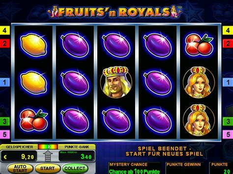 играть слот Fruits`n Royals